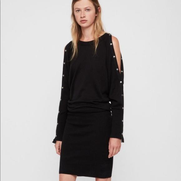 b880d4a8777 All Saints Dresses   Skirts - AllSaints Suzie Snap Sleeve Dress